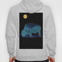 """ Buffalo Moon "" Hoody"