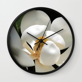 Magical Magnolia Wall Clock