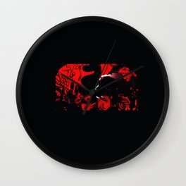 THE EXHIBIT CHAPTER ONE: COCO AGAPE LOVE WARRIOR Wall Clock