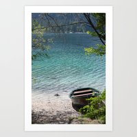 boat Art Prints featuring Boat by L'Ale shop