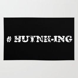 #Huynh-ing (Inverted) Scattered Leaves Rug
