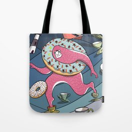 Bigfoot Big Toes in a Teacup in a Storm Tote Bag