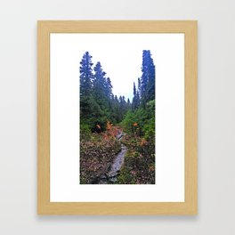 Falling for fall Framed Art Print