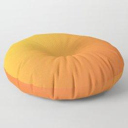 Yellow and Orange Gradient Floor Pillow