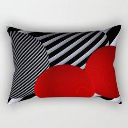 shining geometry Rectangular Pillow