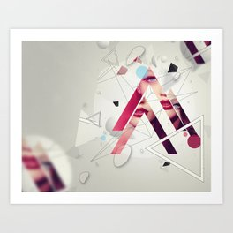 A Mess By Someone Before Art Print