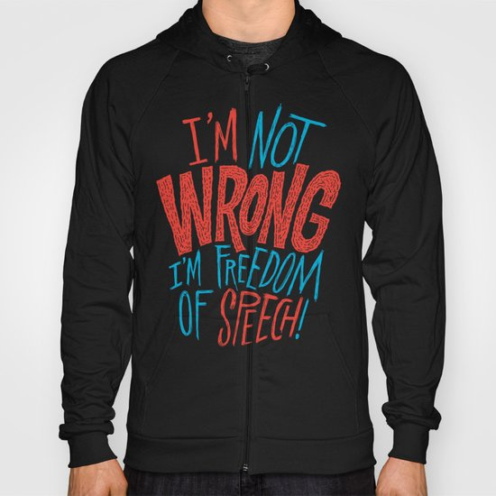 Freedom of Speech Hoody