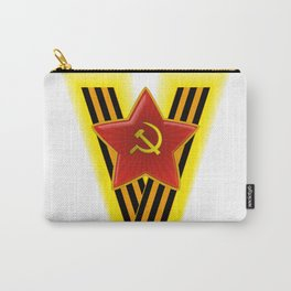 St. George Ribbon Carry-All Pouch