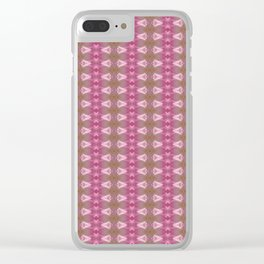 Rose Tête d'Or Clear iPhone Case