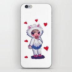 Valentine Kitty Nomz iPhone & iPod Skin