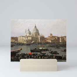 Canaletto Venice, the San Marco Basin on the Day of Ascension Mini Art Print