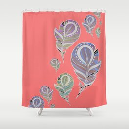 How do you like them Feathers? Shower Curtain