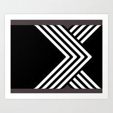 X. Art Print