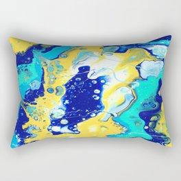 Paint Swirl Rectangular Pillow