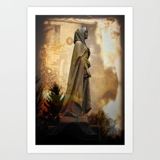 Witch Burn Art Print