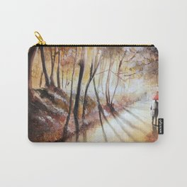 Break in the clouds - watercolor Carry-All Pouch