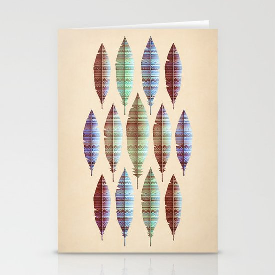 native bling (variant) Stationery Cards