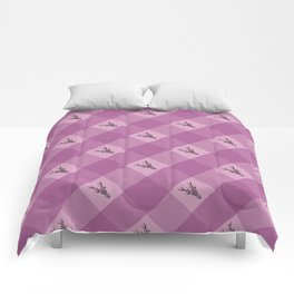 STAG HEAD CHECK Comforters