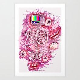 BROADCAST KAISER Art Print