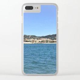Cote d'Azur (Cannes) Clear iPhone Case