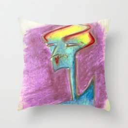chicalalala Throw Pillow