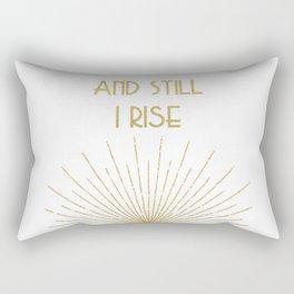 And Still I Rise - Maya Angelou Rectangular Pillow