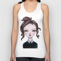 captain silva Tank Tops featuring captain  by lily