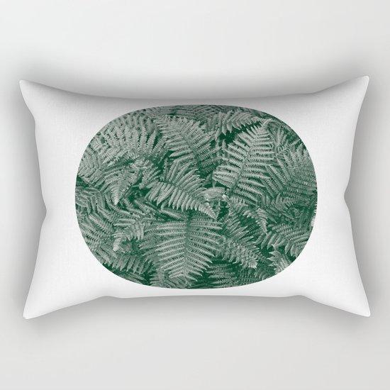 Fern Leaves Rectangular Pillow