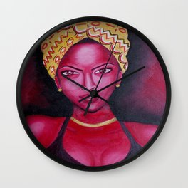 Ms. Intentional  Wall Clock