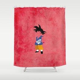 Kid Saiyan Shower Curtain