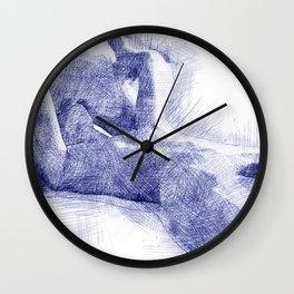 Making Love II Wall Clock