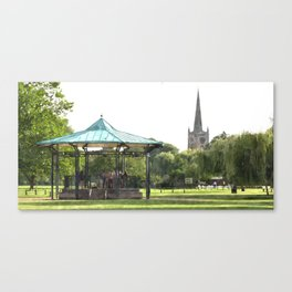 Bandstand Canvas Print