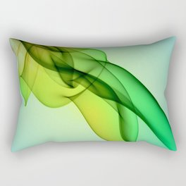 Smoke compositions VIII Rectangular Pillow