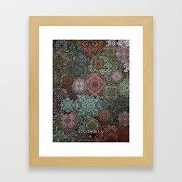 Mandorla Framed Art Print