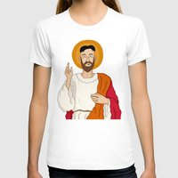 korean T-shirts featuring North Korean Jesus by Chris Piascik