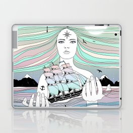 Journey to A Greater Existence (Your Life On Your Hands) Laptop & iPad Skin