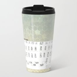 Stages of the Honey Bee Travel Mug