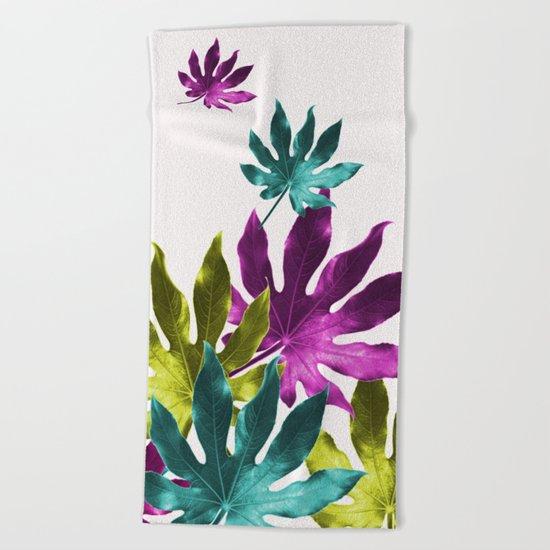 Aralia Joy Beach Towel