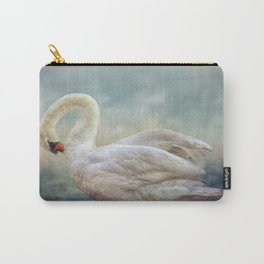 The Silver Swan Carry-All Pouch