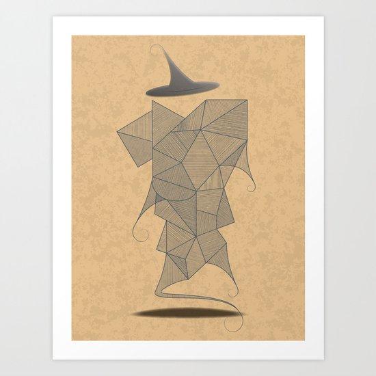 In Pursuit of the Magi Art Print