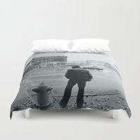 baltimore Duvet Covers featuring Baltimore by Nick Coleman