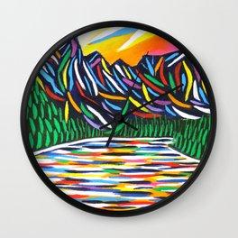 Lake Louise Art Wall Clock