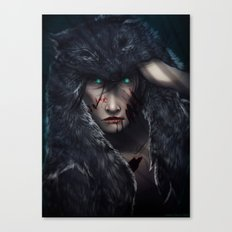 In Wolves' Clothing Canvas Print