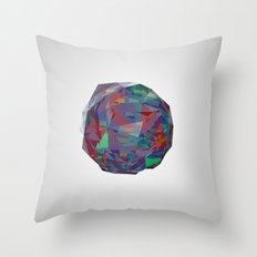 color crystal I Throw Pillow