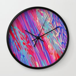 WEATHERING DOWN Wall Clock