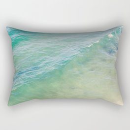 Peaceful Waves Rectangular Pillow