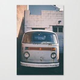 Vintage Van Canvas Print