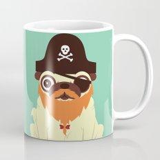 Pug in a crew Mug