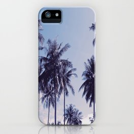 Palm trees 2 iPhone Case