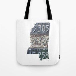 Vintage Mississippi Tote Bag